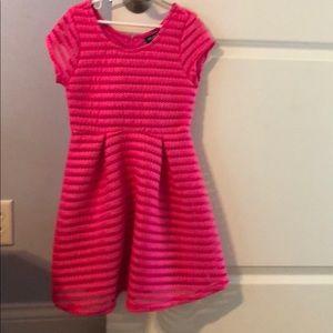 💗Adorable bright pink skater dress 💗